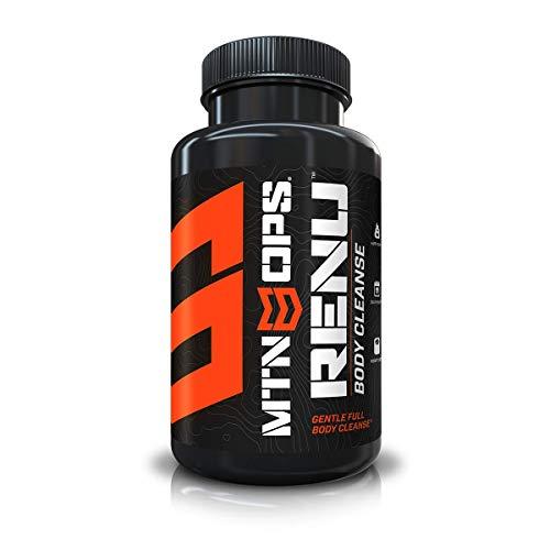 MTN OPS Renu Full Body Detox & Cleanse Capsules - 30 Servings,60 Count (Pack of 1)
