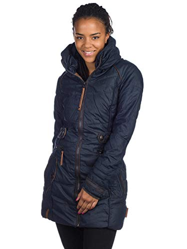 Naketano Knastrologin W Chaqueta de Invierno Dark Blue
