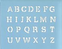 ファインホームのステンシルシート アルファベットC fh-833