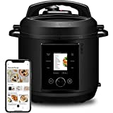 CHEF iQ World's Smartest Pressure Cooker, Pairs with App Via WiFi for Meals in an Instant Built-In Scale & Auto Steam Release, Multi-Functional w/ 300+ Smart Cooking Presets, 6 Qt
