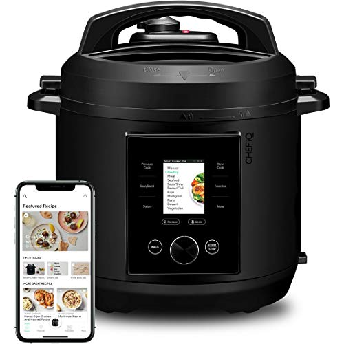 6-Qt Chef iQ Pressure Cooker, Pairs with App, Multi-Functional w/ 300+ Smart Cooking Presets $119 + Free Shipping