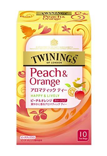 トワイニング ティーバッグ ピーチ&オレンジ 1セット(30バッグ:10バッグ×3箱)