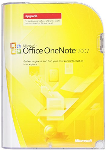 Microsoft One Note 2007 Upgrade Edition (PC) [Import anglais]