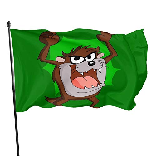 tasmanian devil flag - 8