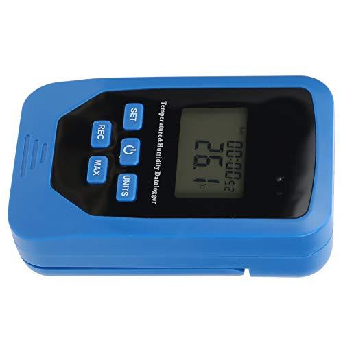Registrador de datos de humedad, registrador de temperatura multifuncional USB, registrador de temperatura y humedad, registrador de temperatura, duradero para la industria del laboratorio