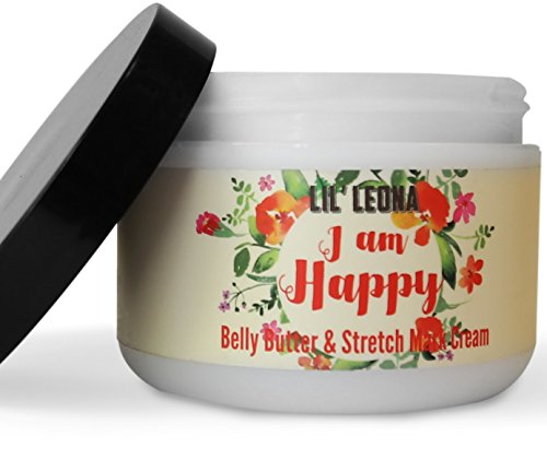 Stretch Mark Cream For Pregnancy - Made with Shea Butter and Vitamin E for Anti Stretch Marks Cellulite Removal and Prevention. Belly Butter for Pregnant Skin Care - 8 oz