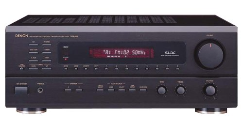 Denon DRA-685 Multi-Source/Multi-Zone AM/FM Stereo Receiver (Discontinued by Manufacturer)
