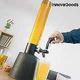 InnovaGoods Tower Dispensador de Cerveza, PMMA, Negro, 19x19x85 cm