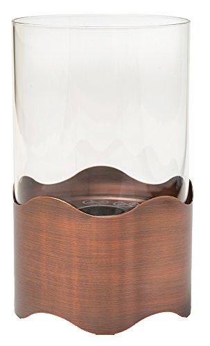 Tecno Air System - Lámpara de bioetanol Palinuro para mesa, color cobre