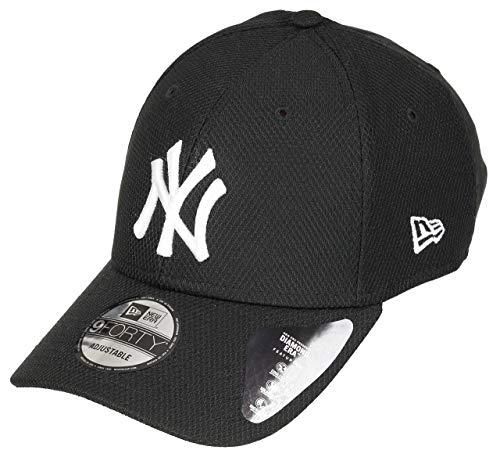 New Era 9forty New York Yankees Herren Kappe Schwarz