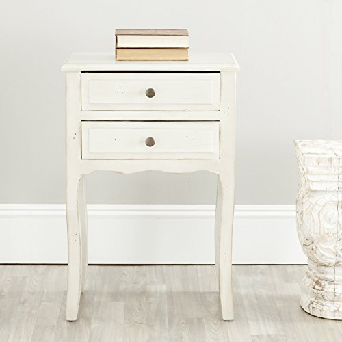 Safavieh American Homes Collection Lori White End Table