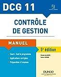 DCG 11 - Contrôle de gestion - 5e éd. - Manuel