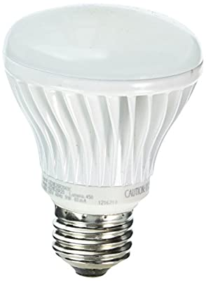 TCP LED11E26BR4024K LED BR40 - 65 Watt Equivalent (11w) Warm White (2400K) Dimmable Flood Light Bulb