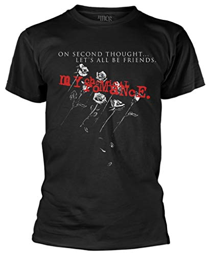 My Chemical Romance 'Let's all Be Friends' (Black) T-Shirt (XX-Large)