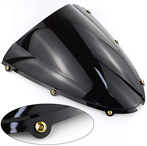 Motorcycle Windscreen Bolt Kit Windshield Screws Fit For Honda CBR1000RR 2004 05 06 2007 cbr 1000 rr CNC Aluminium Hardware Well Nuts Washers Bolts Screw Kits (Gold)
