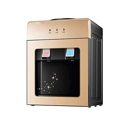 Z-COLOR Mini escritorio fría del refrigerador de agua embotellada agua caliente y fría dispensador de alta capacidad eléctrico inmediato del escritorio de la máquina de agua, mini dispensador del agua