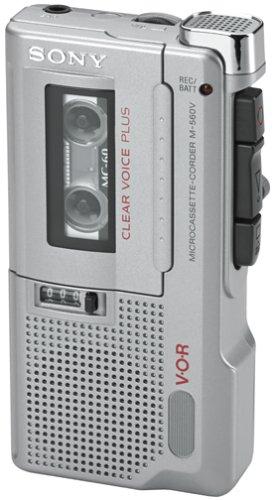 Sony M-560V Microcassette Voice Recorder