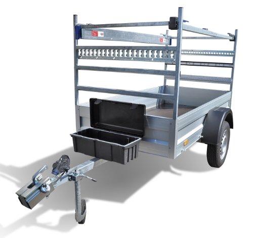Staubox Kunststoff 610 x 310 x 250 mm PE mit Deckel - 4