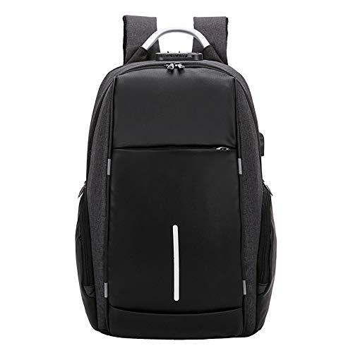 BASA Zaino per Laptop,PortaUSBantifurto per Studenti ad Alta capacità, Viaggio/Affari42 * 30 * 12 cm
