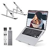 OCDAY Laptop Ständer, Notebook Ständer für MacBook Pro/Air HP, MateBook, Lenovo alle 10'~15.6' Notebooks (Silber)