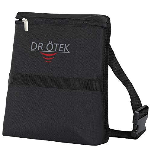 DR.ÖTEK Metalldetektor-Tasche, Wasserdicht tragbares Reißverschluss Taille Tasche, Zubehör für metalldetektoren