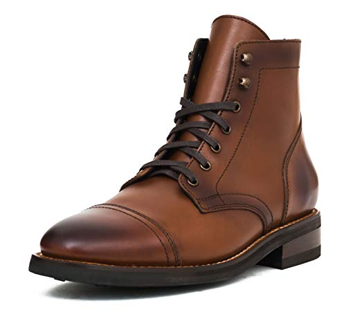 Thursday Boot Company Captain Men's Lace-up Boot, Brandy, 12 M US
