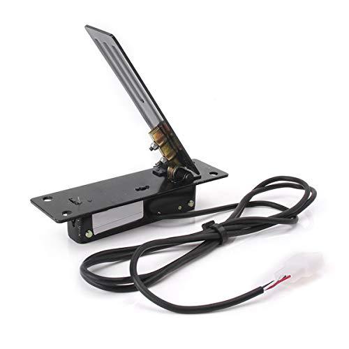 JNSMQC Pedal de pie eléctrico de Metal para Karting Quad Coche eléctrico Acelerador de Acelerador Control de Velocidad Kit de conversión de Bicicleta