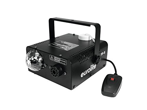 EUROLITE LED FF-5 Hybrid Fog Flower | 450-Watt-Nebelmaschine und Lichteffekt in einem Gehäuse