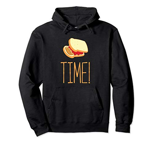 Peanut Butter Jelly Time Pullover Hoodie