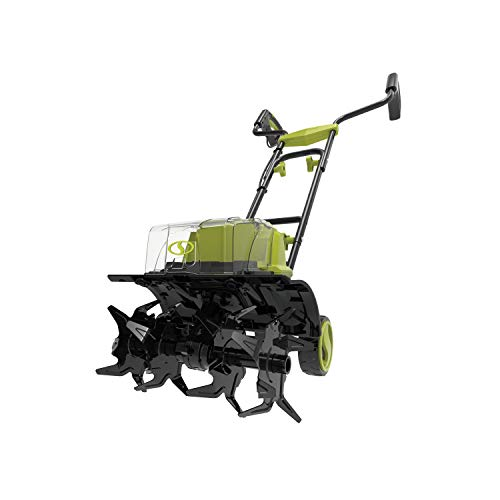 Sun Joe 24V-X2-TLR14-CT Cordless Front Tiller Cultivator 4 Tines, Tool Only