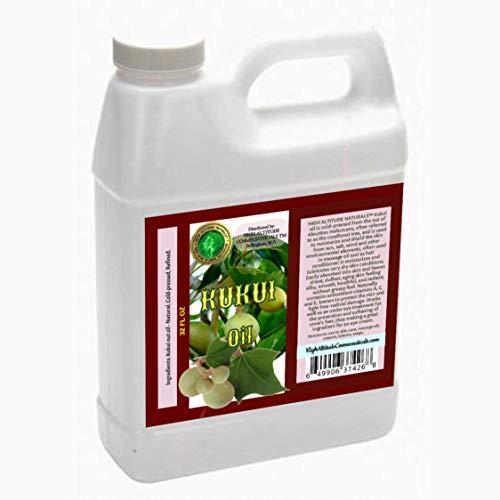 For Sale! Kukui Nut Oil – 32 oz – 100% Natural, Cold-pressed