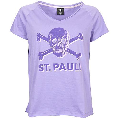 FC St. Pauli Frauen T-Shirt Leila lila (L)