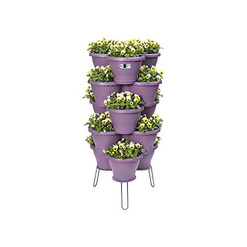 elho Corsica Vertikaler Garten Standard Medium - Anthrazit