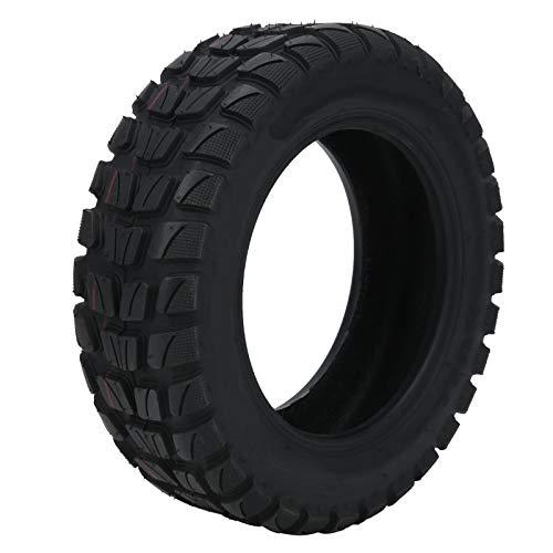 Keenso Neumático de Scooter eléctrico, 90/65-6.5 Neumático de vacío Neumático de Scooter sin cámara de 11 Pulgadas Neumático de Scooter eléctrico Reemplazo de neumáticos de Goma Negro