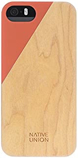 Native Union Clic Wooden iPhone 5/s and SE (Terracotta)