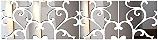 1 piece 2016 New Diy Wall Stickers Home Decor Europe Acrylic Mirror Sticker Adesivo De Parede