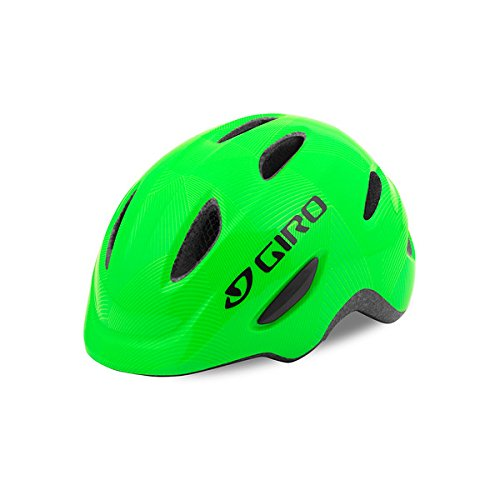 Giro Scamp Youth Recreational Bike Cycling Helmet - Small (49-53 cm), Green/Lime (2021)