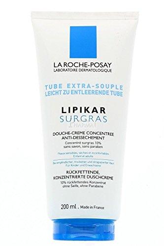 La Roche-Posay Lipikar Surgras Duschcreme, 200 ml Creme