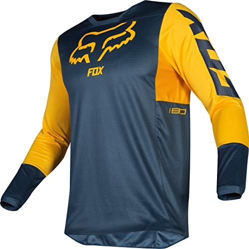 Fox Jersey 180 Przm Navy/Yellow Xl