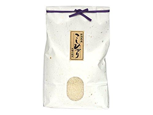 新潟米コシヒカリ 玄米 3kg 新潟産こしひかり 特別栽培米 産地直送 贈答用 自宅用