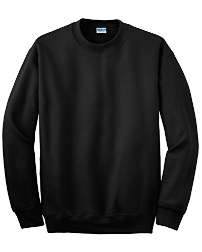 Gildan Ultraleichtes T-Shirt für Set-in Sudore-Shirt, schwarz, Größe XXXL