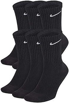6-Pack Nike Men's Cotton Crew Socks
