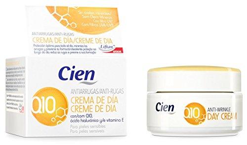 50ml crème de jour anti-rides Q10–avec Q10, Acide Hyaluronique et Vitamine E–pour peaux sensibles