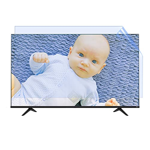 Protector De Pantalla De TV De 55 Pulgadas Antideslumbrante, Anti Luz Azul Y Anti Arañazos para TCL/Samsung/Toshiba/Sony/LG/Hisense,50' 1095 * 616