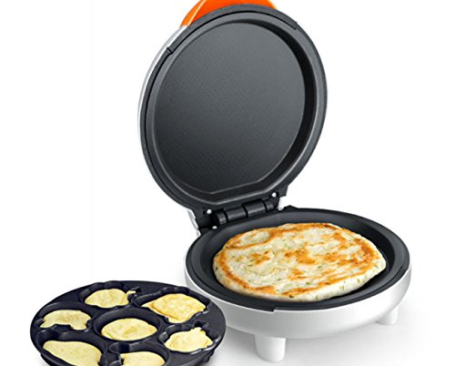 NANXCYR Cartoon elektrische bakvorm pizza pannenkoek machine mini multifunctioneel Home Crepe omelet maker braadpan machine