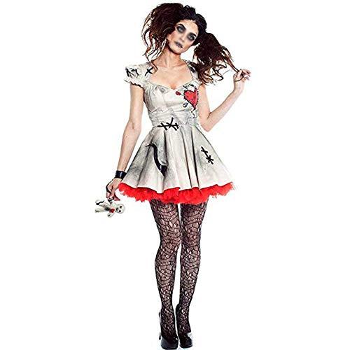 Costume Da Bambola Voodoo Per Donna Adulta, Abito In Maschera Per Feste In Maschera Per Halloween