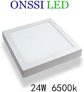 Plafón LED Cuadrado 30x30 cm,24W Blanca Fria 6000k-6500k