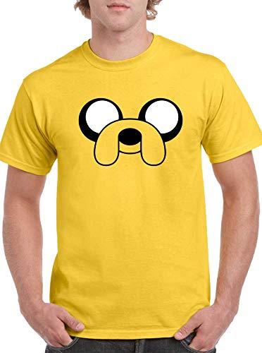 The Fan Tee Camiseta de Hombre Hora de Aventuras Jake Finn 012 XL