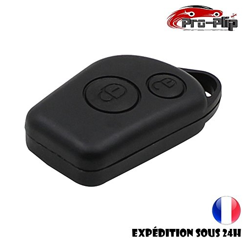 BOITIER Citroen Berlingo Xsara Picasso Saxo Peugeot 306 307 406 607 2 Boutons TELECOMMANDE Coque @Pro-Plip