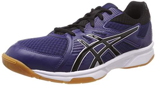 Asics Upcourt 3, Zapatos de Squash Hombre, Azul (Indigo Blue/Black 402), 48 EU